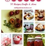 All Things Cherry with 70 recipes, crafts & more at intelligentdomestications.com