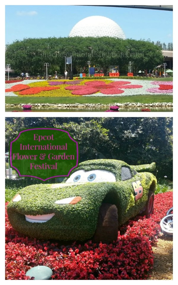 Epcot Flower Show pictures