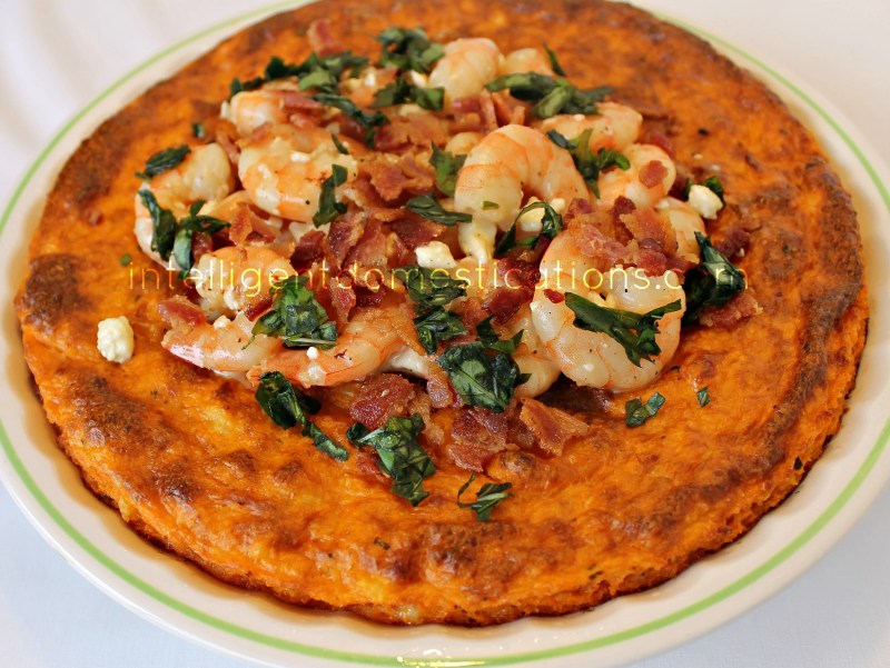 Southern-shrimp-and-grits-pie #shrimpandgrits