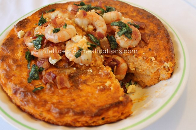 Southern Shrimp and Grits Pie
