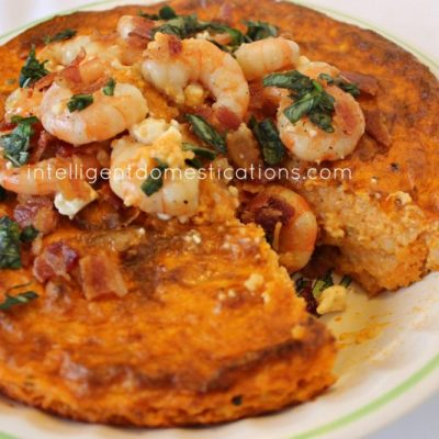 Southern Shrimp & Grits Pie