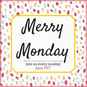 Join the Merry Monday Link Party every Sunday through Wednesday