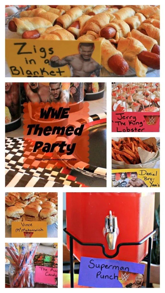 WWE Themed Party.intelligentdomestications.com