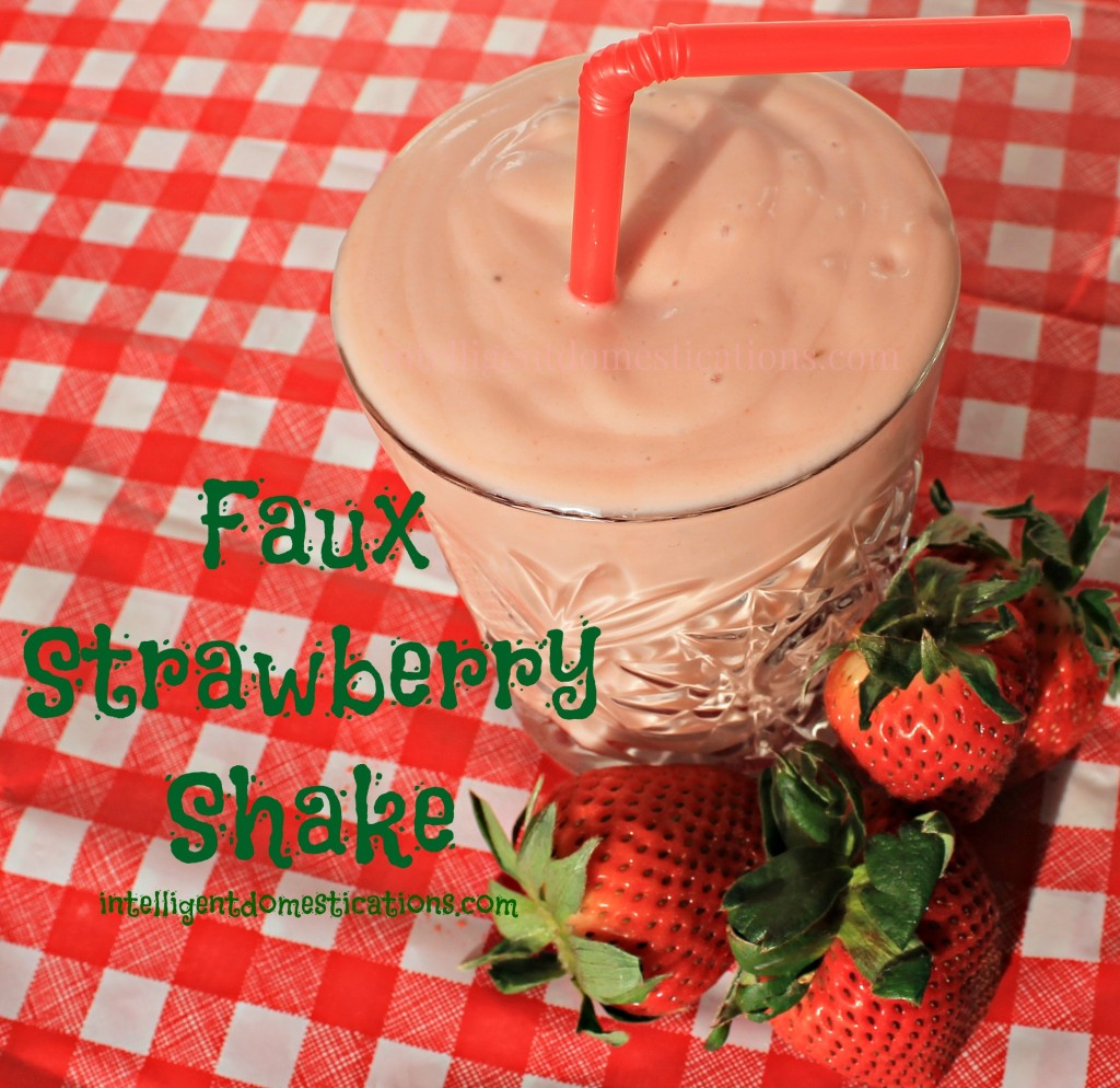 You can enjoy a guilt free Faux Strawberry Shake with Activz Strawberry Powder.intelligentdomestications.com
