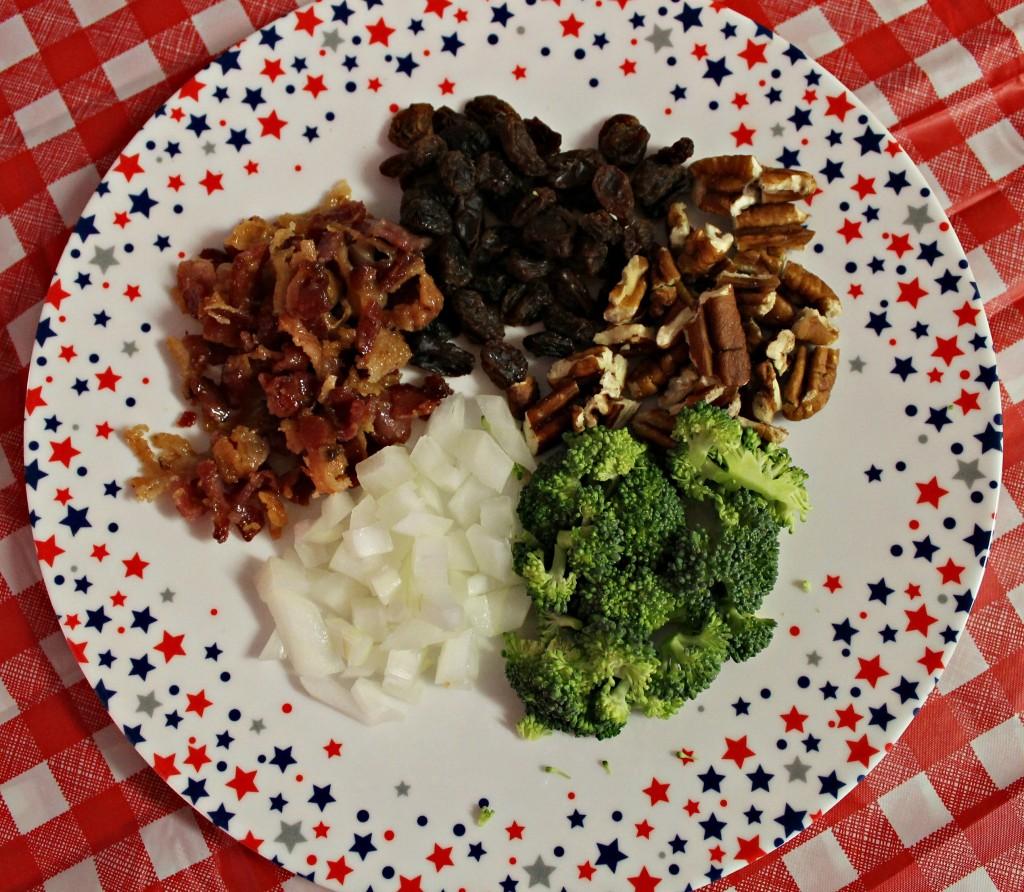Broccoli Salad Ingredients.intelligentdomestications.com