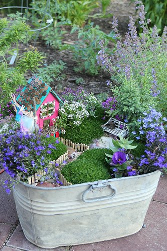 Fairy Garden from the burghbaby