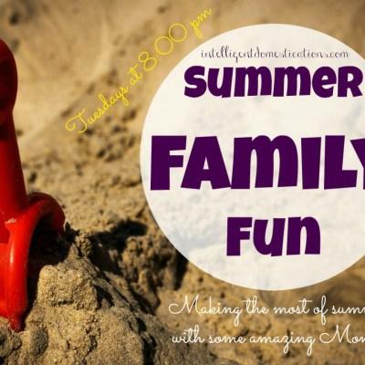 Summer Family Fun Linky Party & Fairy Gardens