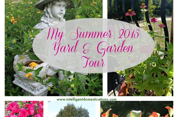 My Summer 2015 Yard and Garden Tour