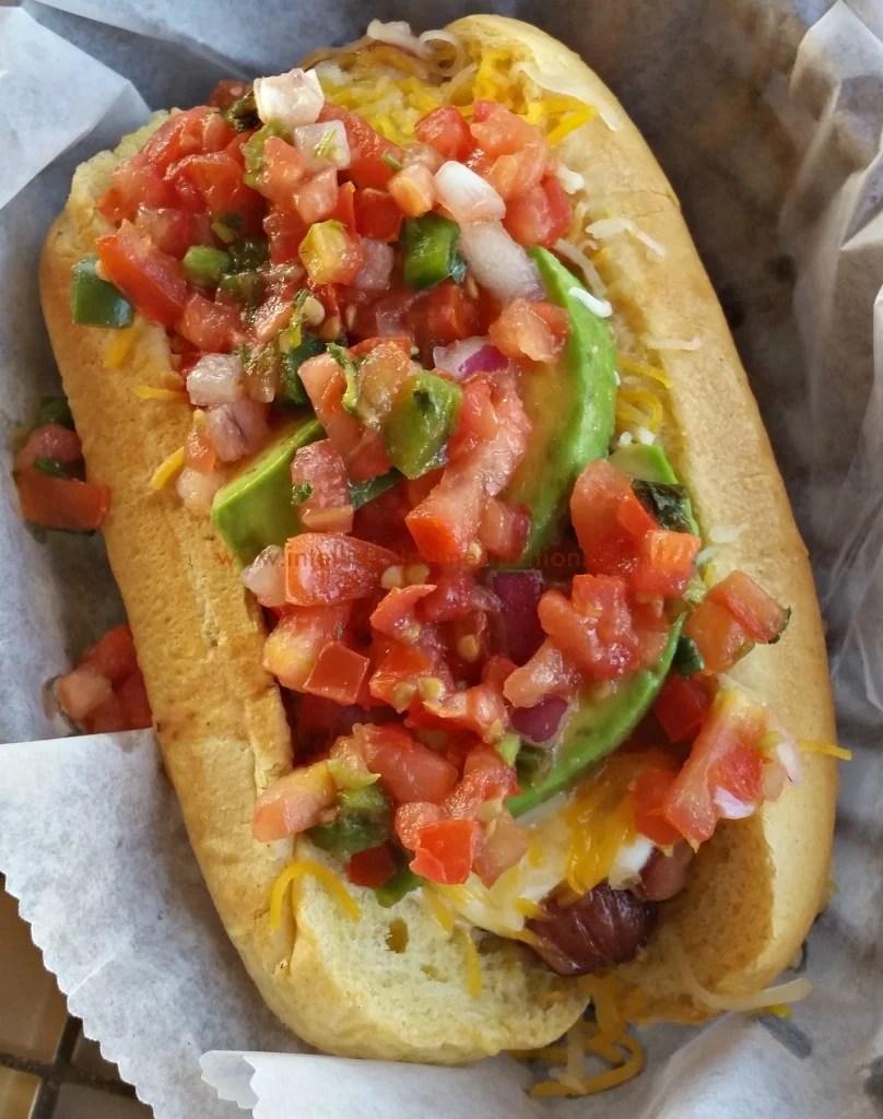 S'noran Dog at Mutts Amazing Hotdogs OKC. #hotdogtour.www.intelligentdomestications.com