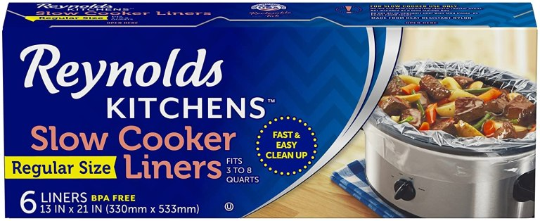 a box of Slow Cooker liners