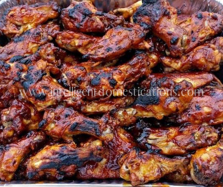 3 Ingredients Crockpot Bbq Chicken Wings