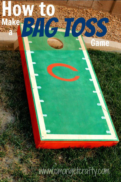 How to Build A Bag Toss Game
