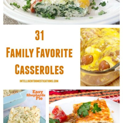 31 Favorite Casserole Recipes