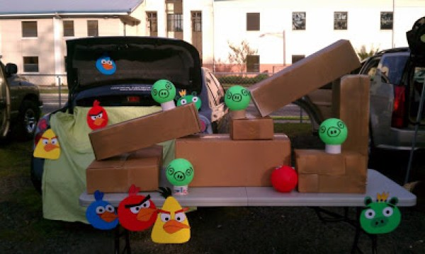 Angry Birds Trunk or Treat. Trunk or Treat Ideas