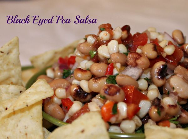 Made from scratch Black Eyed Pea Salsa is a healthy alternative for football food.Get the recipe at www.intelligentdomestications.com