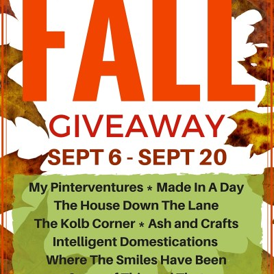 $200 Fall Paypal Cash Giveaway