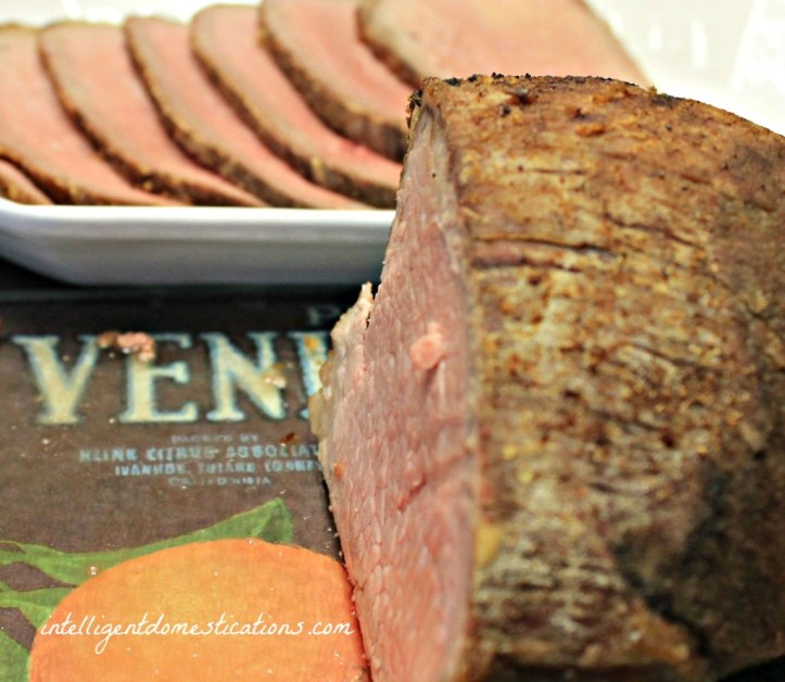 Faux Prime Rib. The secret is how to cook an eye of round roast like a Prime Rib.www.intelligentdomestications.com