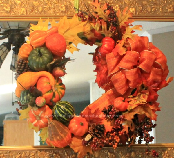 DIY Cornucopia Wreath craft