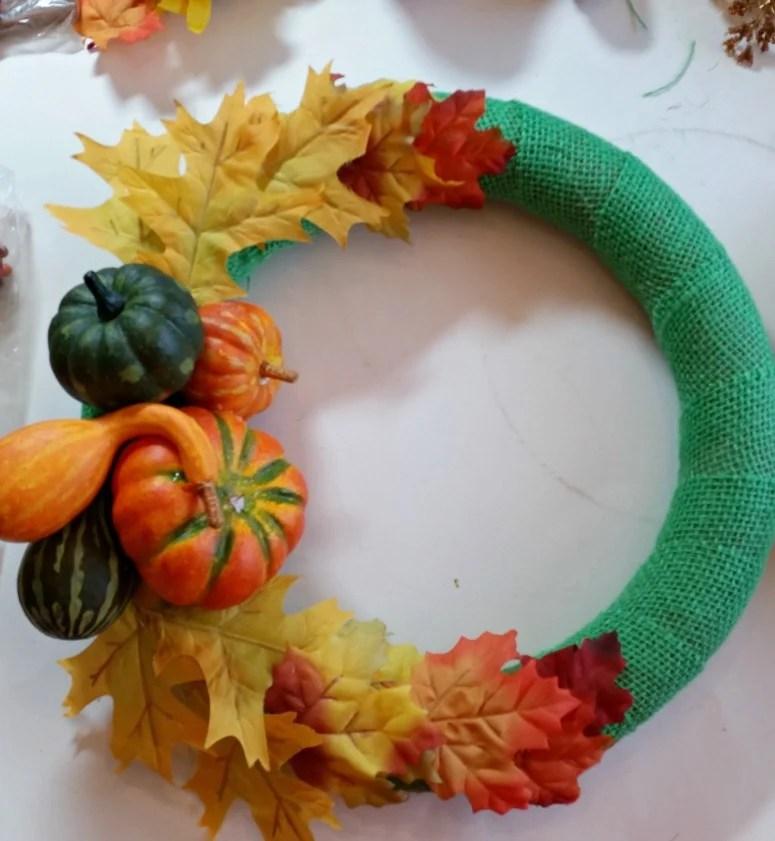 Cornucopia wreath project in the works.intelligentdomestications.com