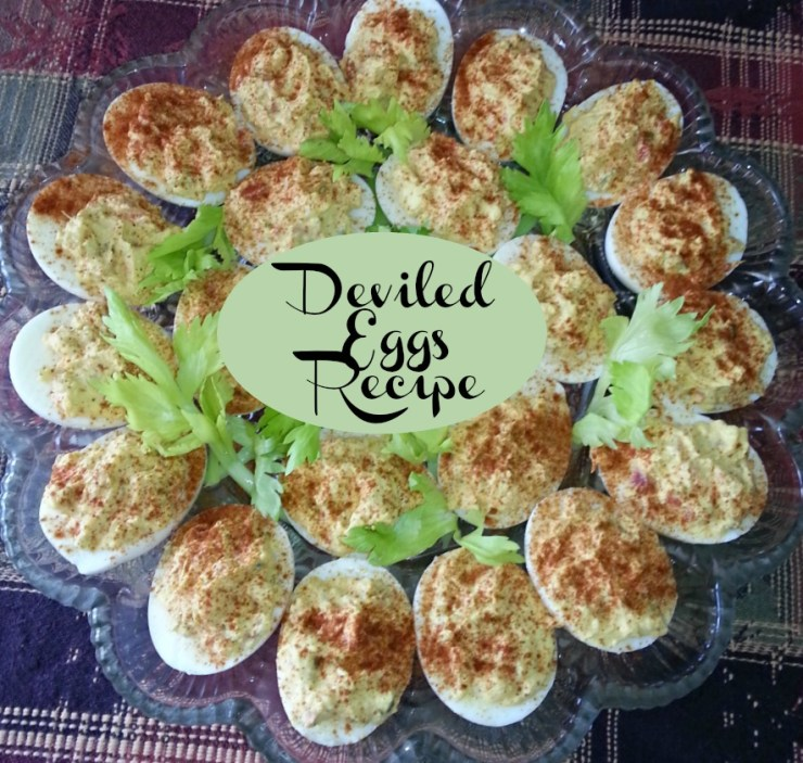 Made from scratch old fashioned Deviled Eggs recipe.