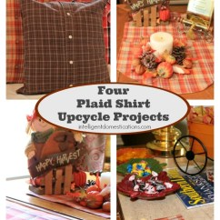 Cleaning A Fabric Sofa Corner Chair Bed Upcycle Plaid Shirts Into Home Decor | Intelligent ...
