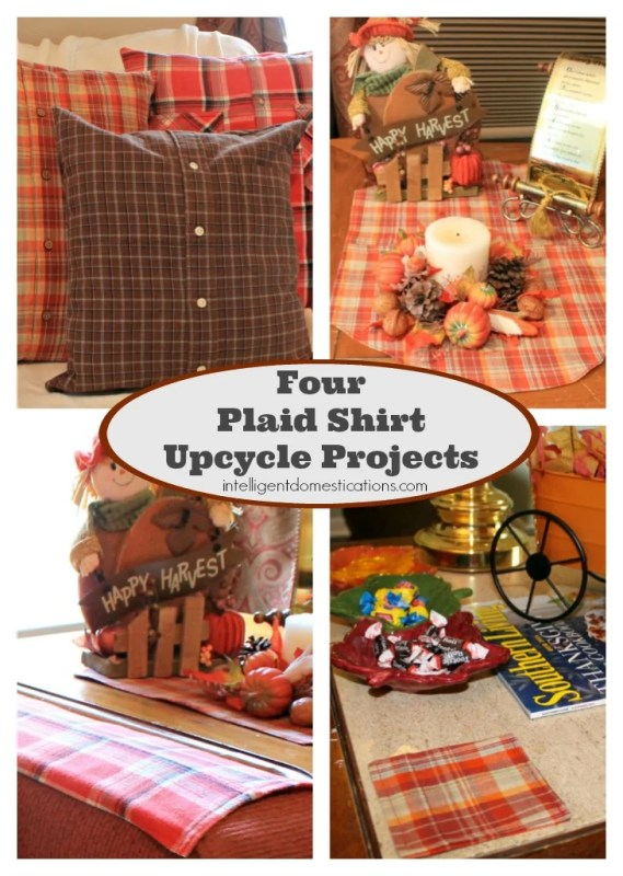 Four Plaid Shirt Upcycle Projects 730x1026 at www.intelligentdomestications.com