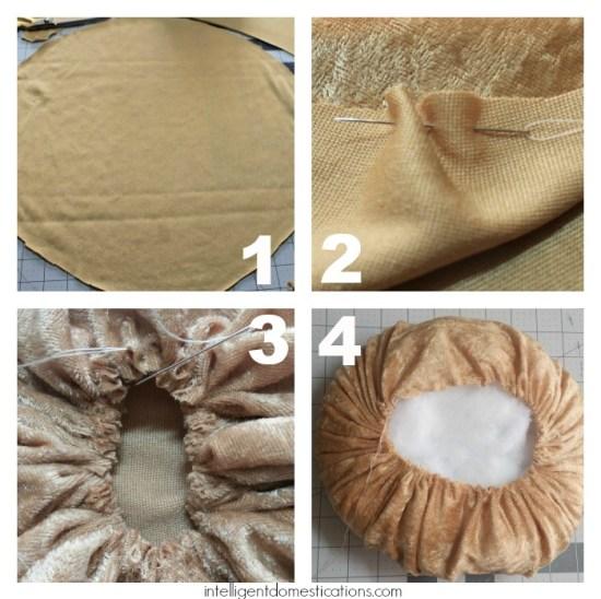 How To Sew Velvet Pumpkins