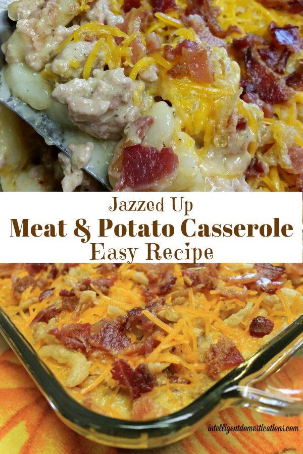 Meat and Potato Casserole Easy Recipe