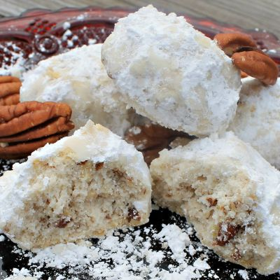 Pecan Snowdrop Cookies Recipe