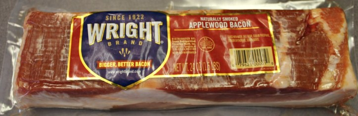 Wright's applewood bacon is great in recipes.intelligentdomestications.com