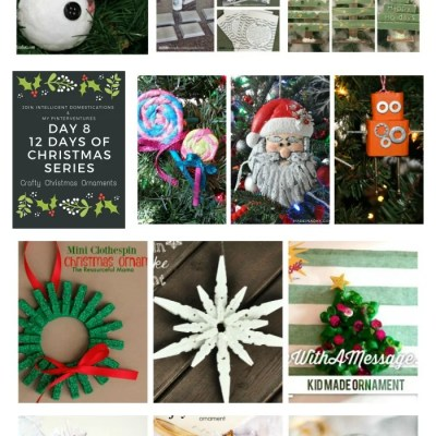12 of The Most Crafty Christmas Ornaments