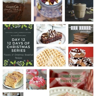 12 Flavors of Christmas Breakfast Recipes