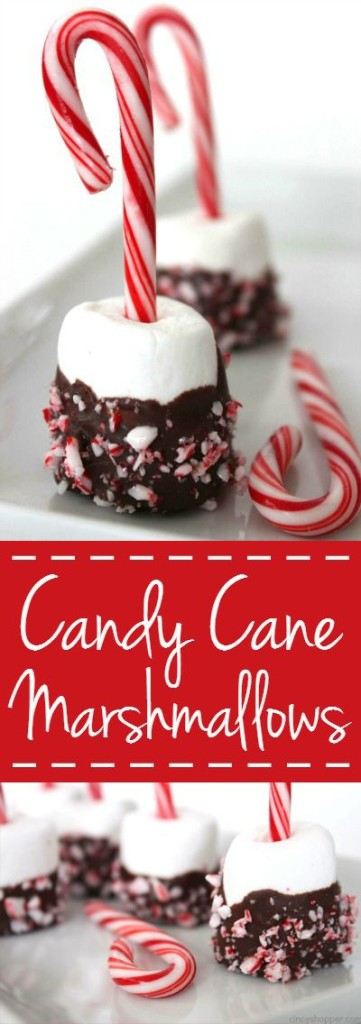 Candy Cane Marshmallows by Cincy Shopper