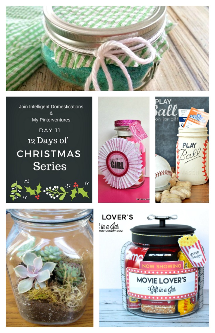 Clever Gifts in a Jar Ideas.Pin Image 735x1135