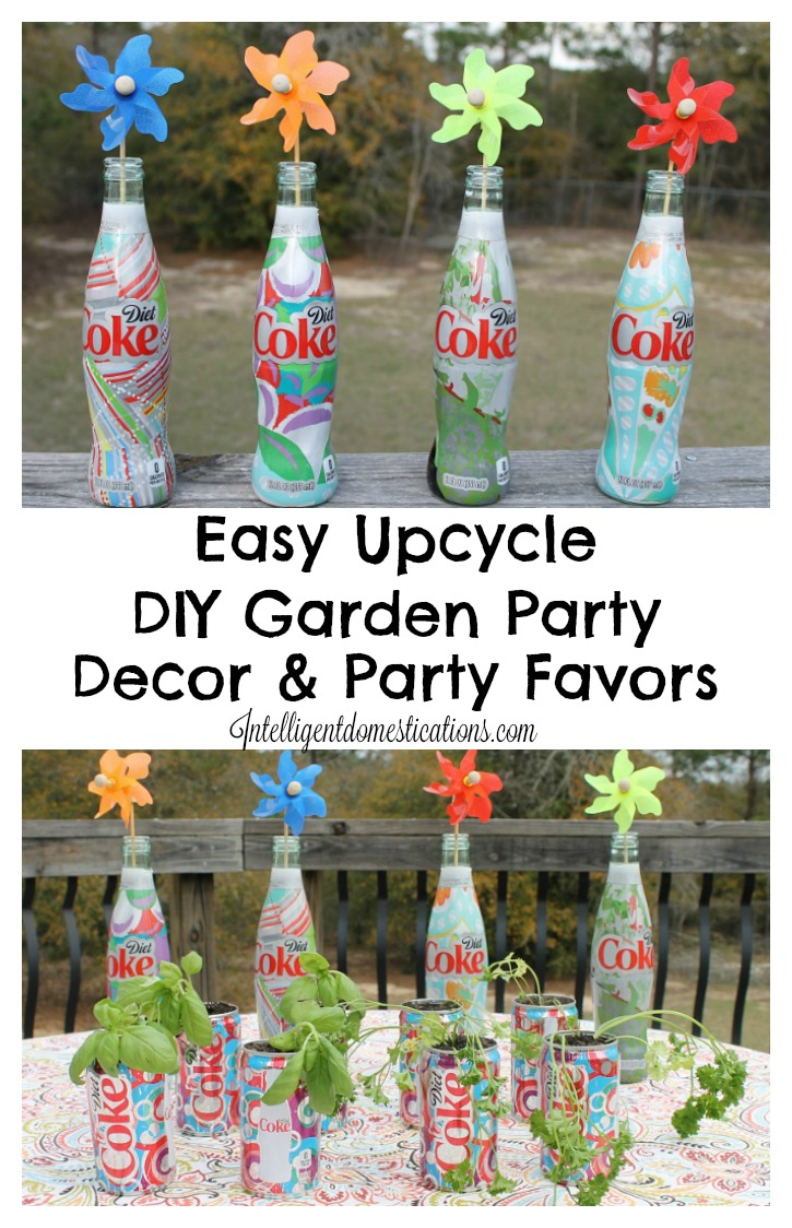 easy garden party decorations and favors. beautiful ideas. Home Design Ideas