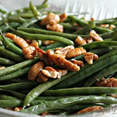 Pecan Glazed Green Beans