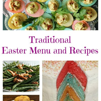 Easter Menu and Recipes