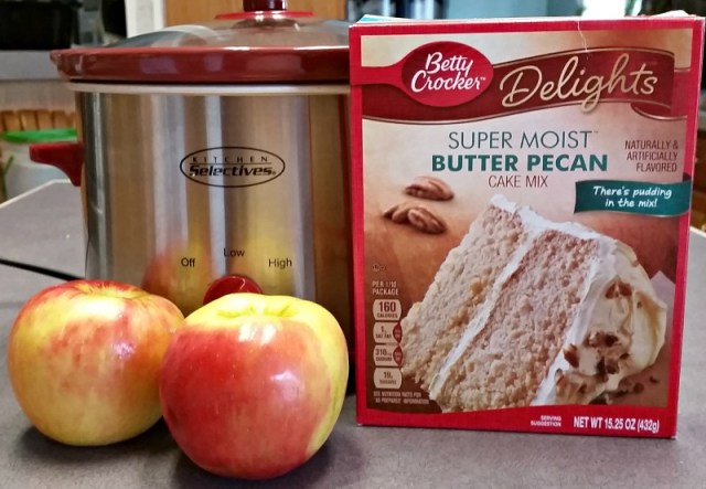 3 Ingredient Crockpot Apple Dumplings easy recipe