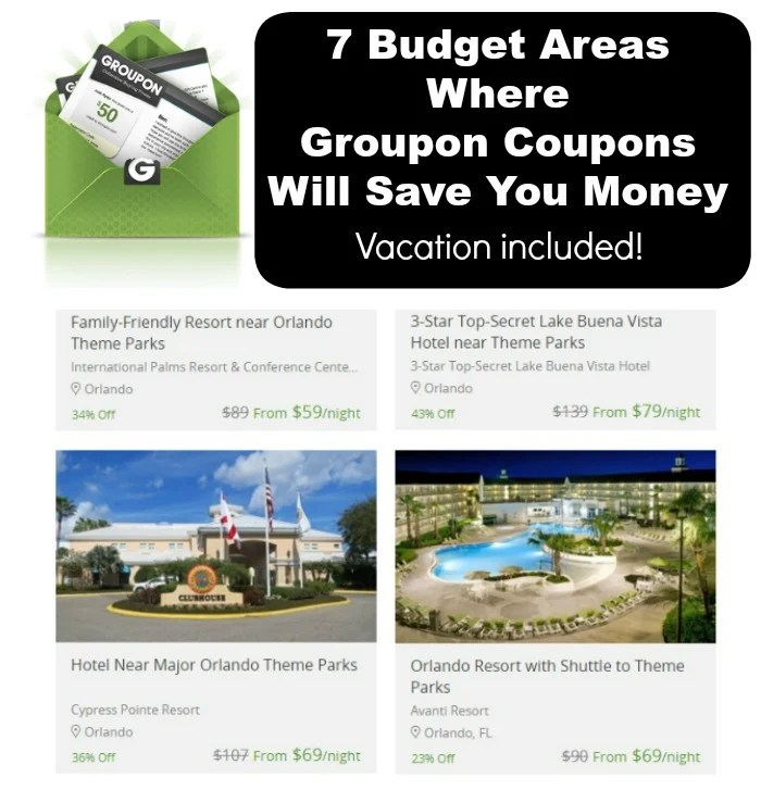 7 Budget Areas Where Groupon Coupons Will Save You Money.Find the list at intelligentdomestications.com