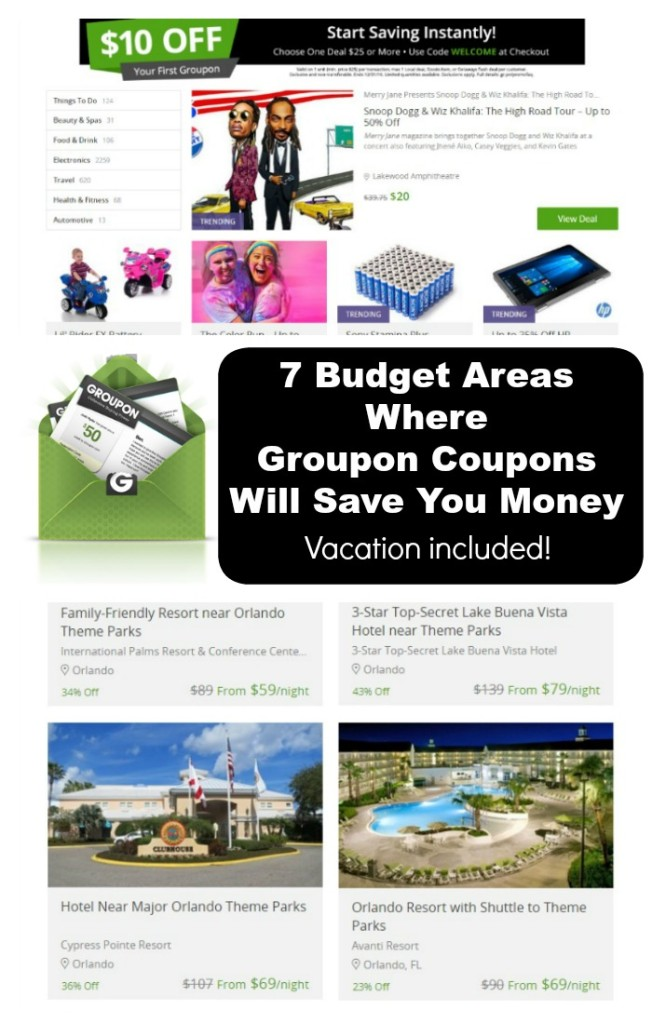 7 Budget Areas Where Groupon Coupons Will Save You Money.intelligentdomestications.com