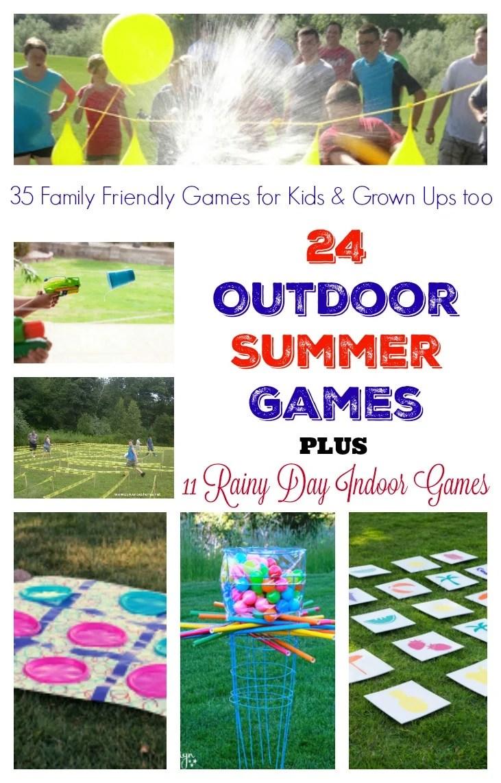Diy Giant Outdoor Games