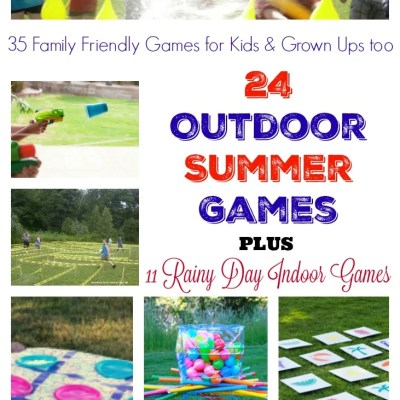 35 Family Friendly Games for Kids & Grown Ups