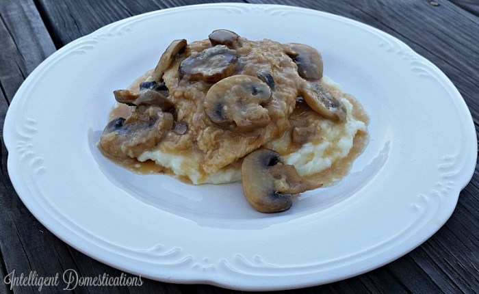 Homemade Easy Chicken Marsala recipe