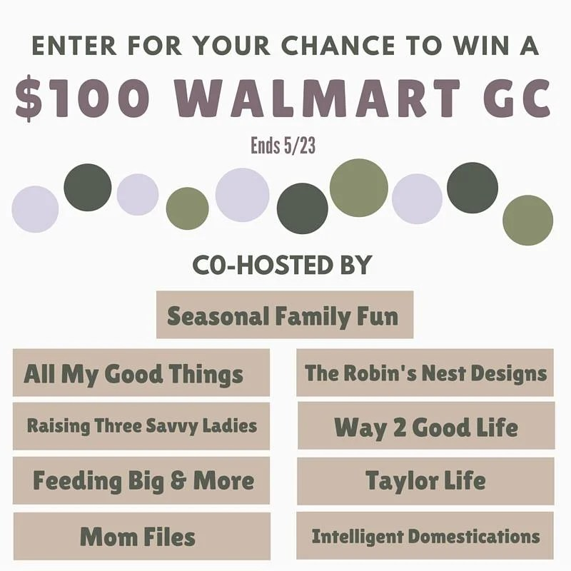 Walmart $100 Giveaway graphic number 3
