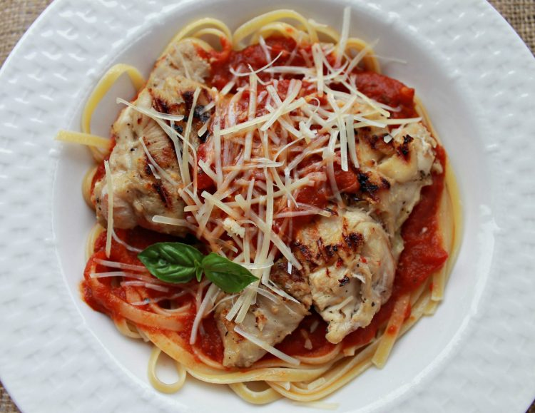 Easy Chicken Parmigiana recipe for weeknight dinners