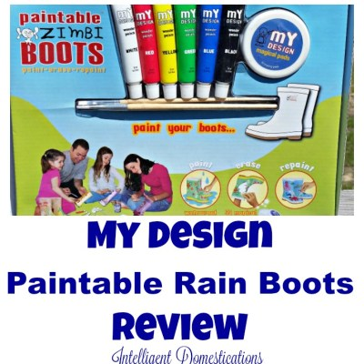 My Design Paintable Rain Boots Review+Savings Code