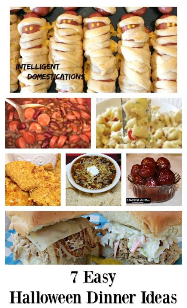 7 Easy Dinner Ideas for Halloween night