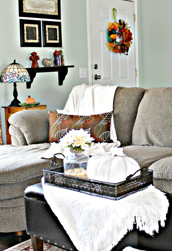 our-fall-home-tour-living-room-afghans-and-fabric-pumpkins-intelligentdomestications-com