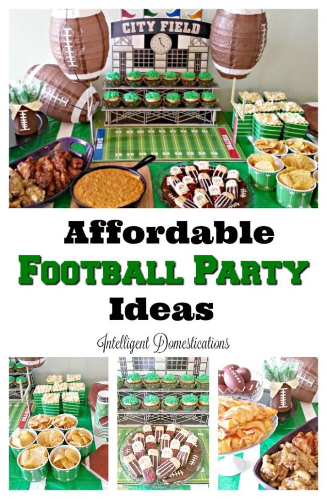 Affordable Football Party Ideas