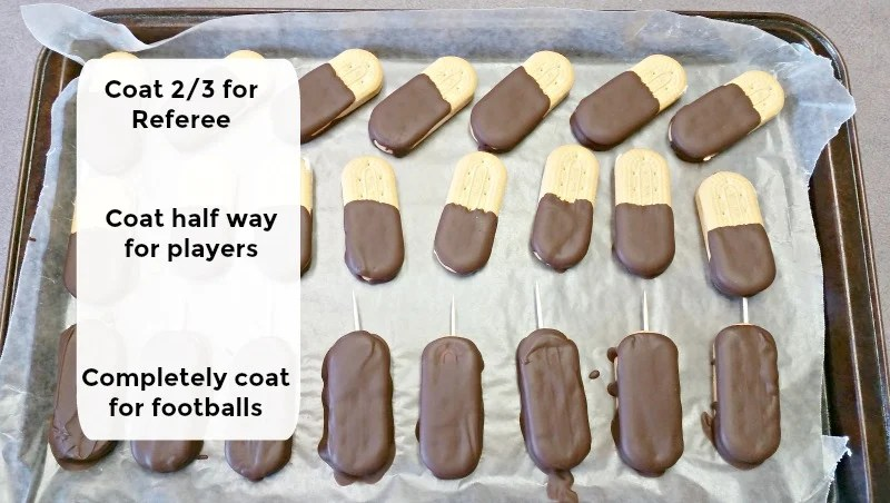 how-to-apply-the-chocolate-for-football-character-cookies-instructions-at-intelligentdomestications-com